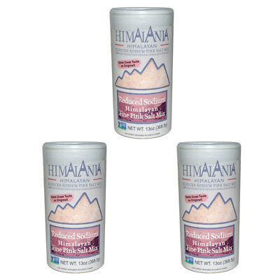 3X Himalania Reduced Sodium Pink Salt Cooking Spices & Seasoning Daily Healthy