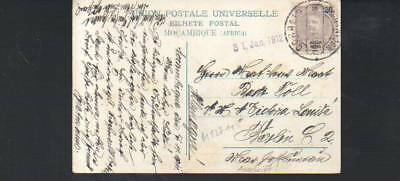 (n12711)   Ansichtskarte Mocambique 1911 an SMS Victoria Louise