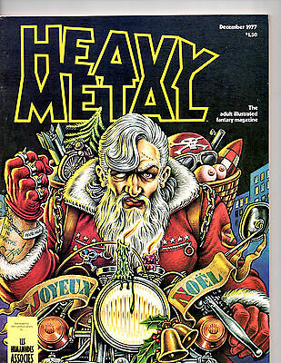 Heavy Metal Anthology Magazine Of SF And Fantasy Comic Strips & Stories Dec 1977