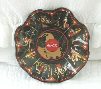 Coca Cola World Glass Bowl English Names Of Countries 1967