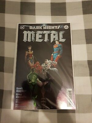 Dark Nights Metal #1 - Foil Stamped Cover (New, Bagged And Boarded) - 1st Print