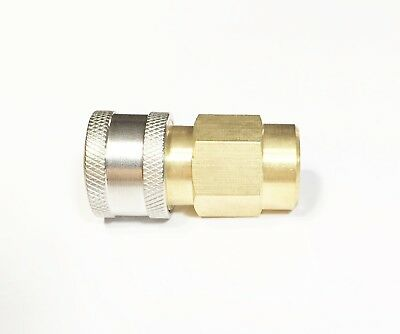 "Pressure Washer Wand Lance Saver 1/4"" NPT Quick Connect QC Socket Coupler Add On"