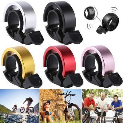 2x Aluminum Alloy Loud Horn Bike Bell Cycling Handlebar Alarm Ring MTB Cycling
