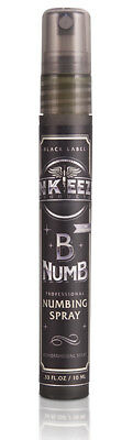 INK-EEZE Tattoo Products B-Numb Numbing Spray Black Label 0.33 oz. NEW