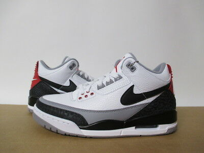 cheap for discount 025ab 5c7f3 Aq3835 160 Nike Air Jordan 3 Tinker Nrg White Black Fire Red Retro 8-14
