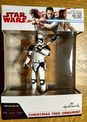"3"" Hallmark Star Wars Stormtrooper Executioner Christmas Tree Ornament Last Jedi"
