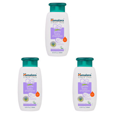 3X New Himalaya Herbal Healthcare Gentle Baby Shampoo Hypoallergenic Daily Care