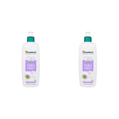 2X Himalaya Herbal Healthcare Gentle Baby Lotion Hypoallergenic Daily Skin Care