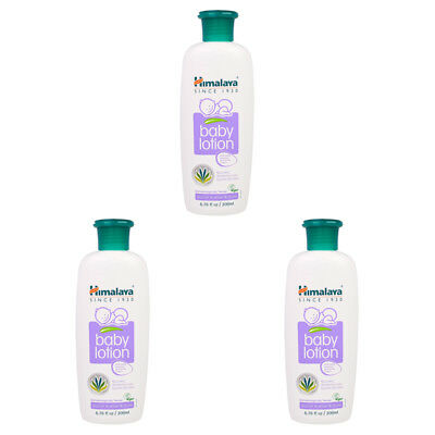 3X Himalaya Herbal Healthcare Gentle Baby Lotion Hypoallergenic Daily Skin Care