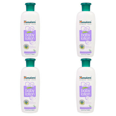 4X Himalaya Herbal Healthcare Gentle Baby Lotion Hypoallergenic Daily Skin Care