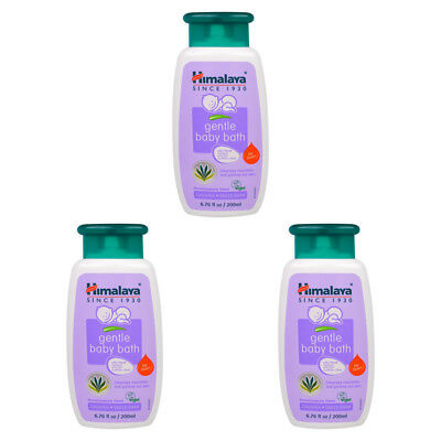 3X Himalaya Herbal Healthcare Gentle Baby Bath Hypoallergenic Daily Skin Care