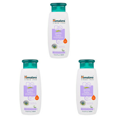 3X Himalaya Gentle Baby Shampoo Hibiscus And Chickpea Vegan Hypoallergenic Care