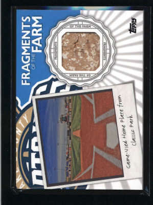 2016 Topps Pro Debut Fragments Of The Farm Game Used Home Plate Ag9805