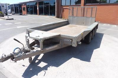 Used Ifor Williams GX126- TRI Axle TRAILER NOW SOLD