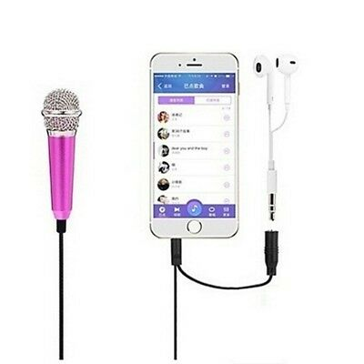 Mini Karaoke Condenser Microphone for Phone Computer Microphone New NT