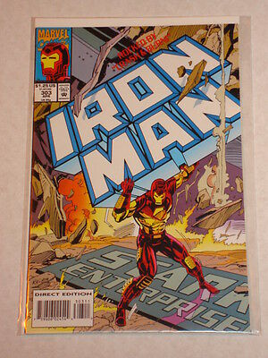 Ironman #303 Vol1 Marvel Thor Captain America Nova Apps April 1994