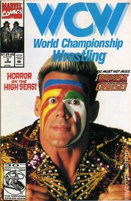 WCW World Championship Wrestling #3 1992 VF Stock Image