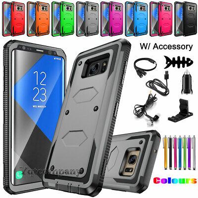 Samsung Galaxy Note 5 8 9 Hybrid Rugged Armor Protective Impact Hard Case Cover