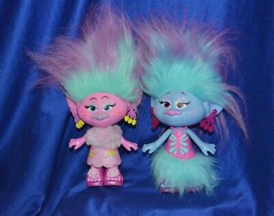 Good Luck Trolls By Hasbro 2015 - Lot of 2 -