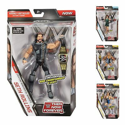 WWE Now Then Forever Elite Collection Superstar Action Figures Age 8+