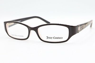 fc2137dcce New Authentic Juicy Couture JU 901 0ERN Brown Pink Girls Eyeglasses  47-15-125