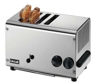 Lincat 4 Slot Toaster Model LT4X Extra deep toasting slots, for slices of bread