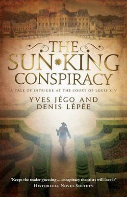 The Sun King Conspiracy by Jego, Lepee  New 9781910477359 Fast Free Shipping..