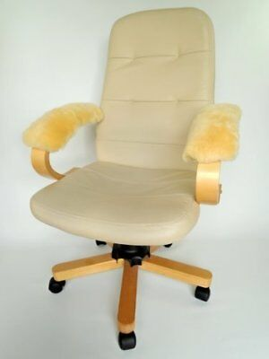 Genuine Medical Sheepskin Armrest Cover - Suitable For Any Chair With Armrest -