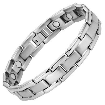 Strong Mens Magnetic Therapy Bracelet 15 3000 gauss Magnets By Willis Judd