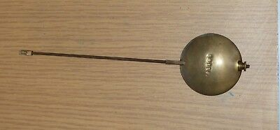 Antique French clock pendulum 213mm long with 53mm bob