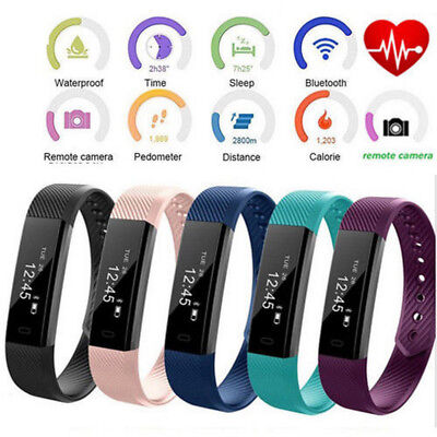 FITNESS ACTIVITY TRACKER SMART HEALTH SPORTS WRIST WATCH For Android iPhone