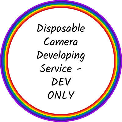 Disposable Camera Developing/Processing Service - DEV ONLY