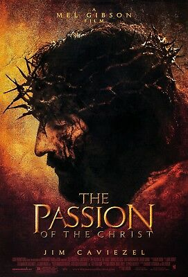 """The Passion Of The Christ"" Jim Caviezel..Classic Movie Poster Various Sizes"