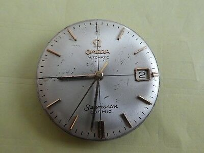 original Seamaster  562 Omega Movement Automatic  Dial Blatt hand works (k6)