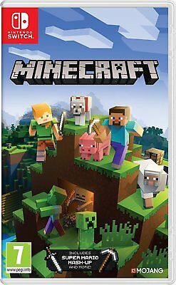 Minecraft Nintendo Switch Game for Nintendo Switch New & Sealed * IN STOCK *