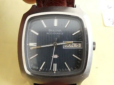 Bulova Accouquartz Accoutron cal 218 watch  works (k7)