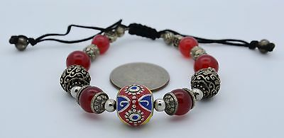 Rare Beautiful Ancient Early Islamic Roman Glass Beads Bracelet vintage antique