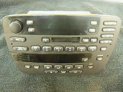 Ford Taurus Radio Cd Changer Control And Electronic Climate Control Head