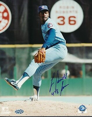 Lee Smith Cubs (478 Saves) Signed 8x10 Photo Autograph Auto TriStar