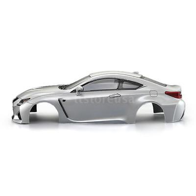 KillerBody 48648 257mm LEXUS RC F Finished Body Shell Frame for 1/10 M6N2