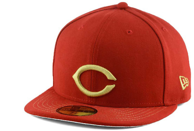 newest 330ac daf2e CINCINNATI REDS CHROMAFITTED Baseball New Era 59Fifty MLB Fitted Cap Hat