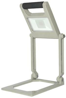 15W Rechargeable Folding LED Worklight, Silver, 1000lm