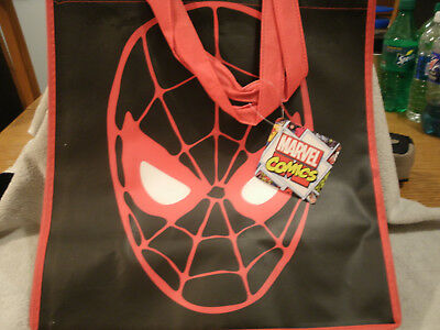 NEW The Amazing Spiderman Movie Gusset Pellon Tote or Treat Bag Home & Garden Household Supplies & Cleaning
