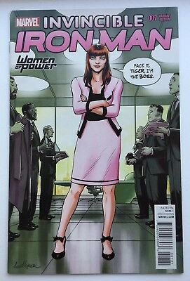 Invincible Iron Man #7 Comic Women Of Power Variant 1St Riri Williams Key Issue