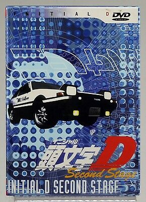 Initial D TV Series Collection Second Stage DVD (3 disc set) Anime box set