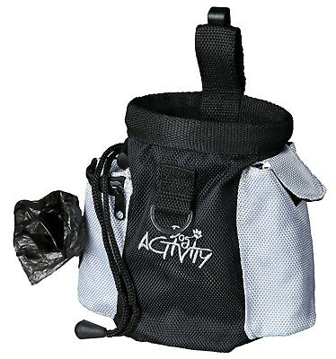 Trixie 2 in 1 Training Treat Bag Snack Agility Storage Walk Bag Poo Bag Holder