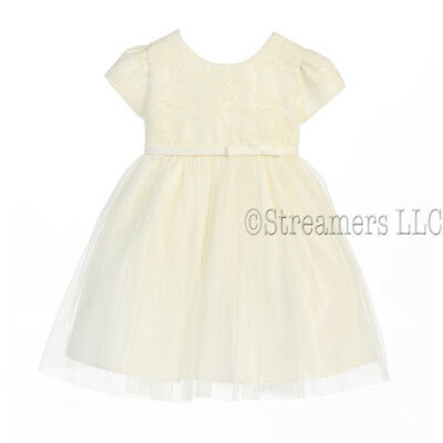 Wholesale Lot of 7 Pieces Baby Special Occasion Dress Sizes 9-24 Mos-SKBG-B599