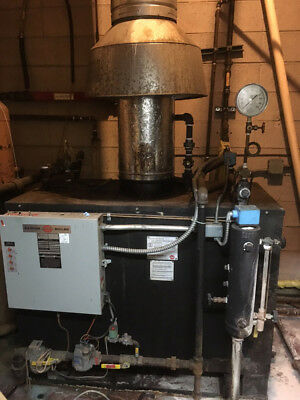 Parker 15HP Gas Fired Steam Boiler (103-15)