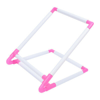 Cross Stitch Frame Holder Needlework Lap Adjustable Table Stand Kids