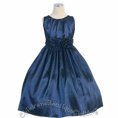 Wholesale Lot of 5 Pieces Baby Navy Dress Sizes 9-24 Mos-SK-B355-NV